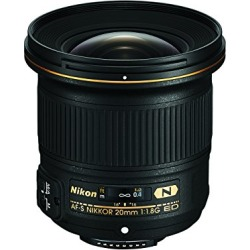 Nikon AF-S FX NIKKOR 20mm f/1.8G ED Fixed Lens with Auto Focus for Nikon DSLR Cameras found on Bargain Bro from  for $716.95