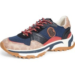 Coach New York C143 Sig Mixed Material Sneakers found on Bargain Bro Philippines from Eastdane AU/APAC for $250.00