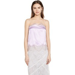 Anais Jourden Lilac Silk Satin Camisole found on MODAPINS from shopbop for USD $92.50