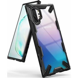 Ringke Fusion X Designed for Galaxy Note 10 Plus Case, Galaxy Note 10 Plus 5G Cover (2019) - Black found on Bargain Bro from  for $11.99