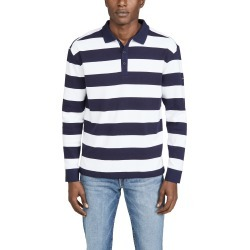 Armor Lux Long Sleeve Pleuven Polo Shirt found on MODAPINS from Eastdane AU/APAC for USD $80.50