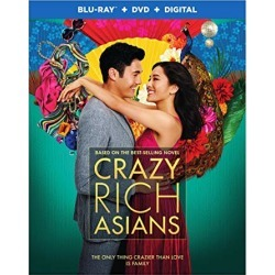 Crazy Rich Asians (Blu-ray + DVD + Digital Combo Pack) (BD) found on Bargain Bro from  for $22.99