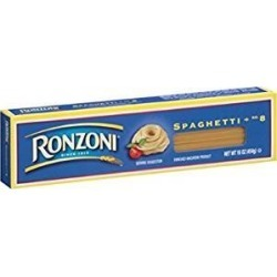 Ronzoni Spaghetti Macaroni 16 Oz. Pack Of 3. found on Bargain Bro from  for $19.17