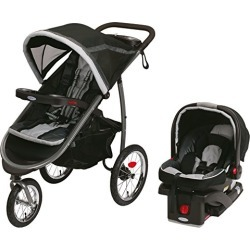 Graco Fastaction Fold Jogger Click Connect Baby Travel System, Gotham found on Bargain Bro from  for $299.99