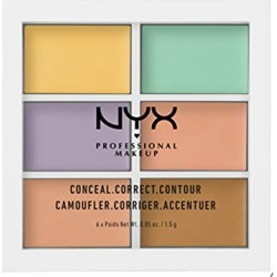 NYX PROFESSIONAL MAKEUP Color Correcting Palette, 0.05 Ounce found on Bargain Bro from  for $6.69