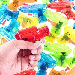 Super Z Outlet Mini Colorful Squirt Water Guns Plastic Blasters for Kids Birthday Party Favors, Pool Beach Toys, Hot Summer Classic Water Games (30 Pack) found on Bargain Bro from  for $11.99