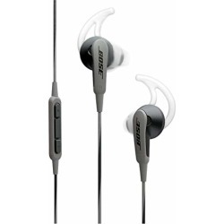 Bose SoundSport in-ear headphones for Samsung and Android devices, Charcoal found on Bargain Bro from  for $49.95