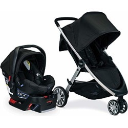 Britax Travel System - B-Lively Stroller & B-Safe 35 Infant Car Seat - 4 to 55 Pounds, Raven found on Bargain Bro from  for $399.99