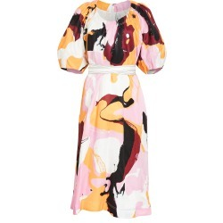 Aje Psychedelia Midi Smock Dress found on MODAPINS from shopbop for USD $595.00