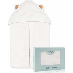 Natemia Extra Soft Rayon from Bamboo Baby Hooded Towel | Super Absorbent and Hypoallergenic | Sized for Infant and Toddler found on Bargain Bro from  for $21.95