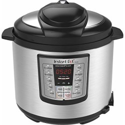 Instant Pot LUX60V3 V3 6 Qt 6-in-1 Multi-Use Programmable Pressure Cooker, Slow Cooker, Rice Cooker, Sauté, Steamer, and Warmer found on Bargain Bro from  for $59