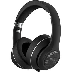 Tribit XFree Tune Bluetooth Headphones Over Ear - Wireless Headphones Noise Cancelling, Hi-Fi Stereo Sound with Rich Bass, Built-in Mic, Soft Earmuffs - Foldable Headset, 24 Hrs Playtime, Black found on Bargain Bro from  for $44.99