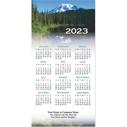 Scenic Mountains Tri-Fold Calendar Card found on Bargain Bro India from Amsterdam Printing for $239.00