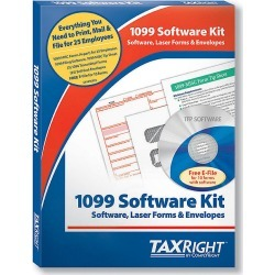 Taxright 1099-Misc With Software 25 Recipients