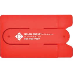 Silicone Phone Wallet With Stand found on Bargain Bro India from Amsterdam Printing for $114.00