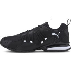 PUMA Silverion Men's Running Shoes in Black/White, Size 11