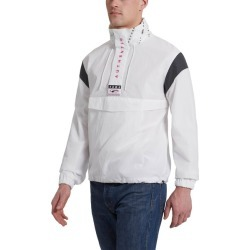 PUMA '90s Retro Men's Windbreaker Jacket in White, Size XXL