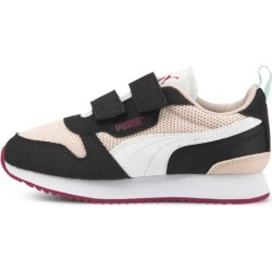 PUMA R78 Little Kids' Shoes in Lotus/White/Black, Size 2.5 found on Bargain Bro Philippines from Puma for $45.00