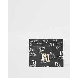 River Island Womens Black RI print cardholder found on Bargain Bro Philippines from RIver Island US for $15.00