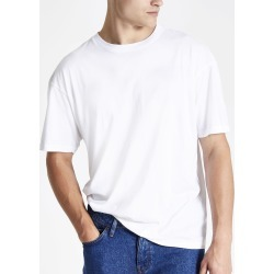 Mens White oversized short sleeve T-shirt found on MODAPINS from River Island - UK for USD $10.17