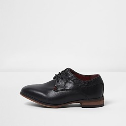 River Island Mini boys black pointed brogue shoes found on Bargain Bro India from RIver Island US for $36.00