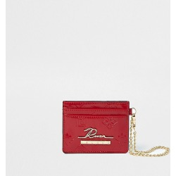 River Island Womens Red RI embossed cardholder found on Bargain Bro Philippines from RIver Island US for $19.00