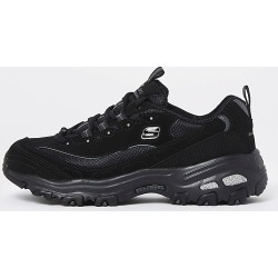 Womens Skechers black lace up trainers found on MODAPINS from RIver Island US for USD $121.00
