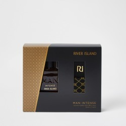 Mens River Island Man Intense Eau De Toilette and Socks Set found on Bargain Bro UK from River Island - UK