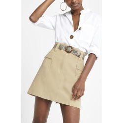 Womens Beige belted mini utility skirt found on MODAPINS from River Island - UK for USD $44.47