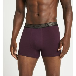 Mens River Island Khaki RI boxers 5 pack found on MODAPINS from River Island - UK for USD $35.34