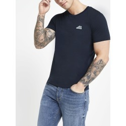 Mens Selected Homme Navy short sleeve T-shirt found on MODAPINS from River Island - UK for USD $22.87