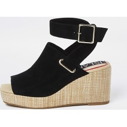 River Island Womens Black wedge shoe boots found on MODAPINS from RIver Island US for USD $71.00