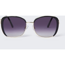 River Island Womens Black smoke lens glam sunglasses found on Bargain Bro UK from River Island - UK