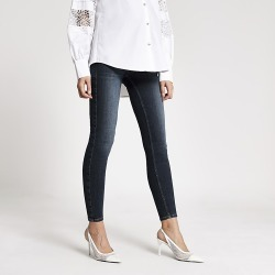 River Island Womens Dark blue Amelie overbump maternity jeans found on MODAPINS from RIver Island US for USD $80.00