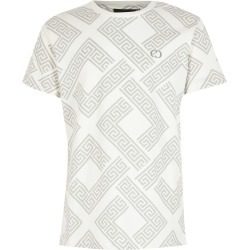 River Island Boys Criminal Damage White printed T-shirt found on MODAPINS from River Island - UK for USD $21.29