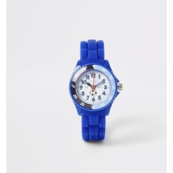 River Island Kids Tikkers Blue time teacher sports watch found on Bargain Bro UK from River Island - UK