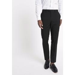 Mens River Island Black slim fit suit trousers