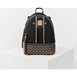 River Island Womens Black RI monogram blocked backpack found on Bargain Bro Philippines from RIver Island US for $60.00