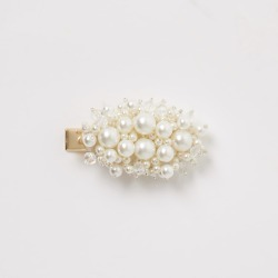River Island Womens Cream faux pearl hair clip found on MODAPINS from River Island - UK for USD $12.98
