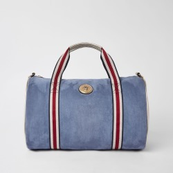 Womens Blue jaguar duffle weekend bag found on MODAPINS from River Island - UK for USD $50.83
