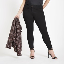 Womens Plus Black RI Molly jeggings found on MODAPINS from River Island - UK for USD $50.83