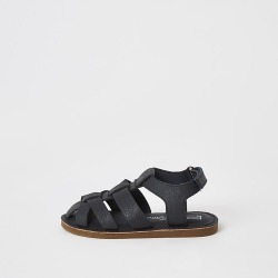 River Island Mini boys navy strappy sandals