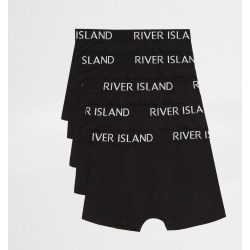 River Island Boys Black RI boxers multipack found on Bargain Bro UK from River Island - UK