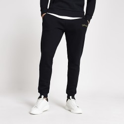 River Island Mens Prolific navy slim fit joggers