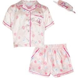 River Island Girls Pink unicorn satin pyjamas boxed found on Bargain Bro UK from River Island - UK