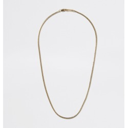 Mens River Island Gold colour snake chain necklace found on Bargain Bro UK from River Island - UK