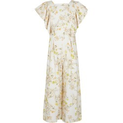 River Island Girls Cream floral frill sleeve jumpsuit found on Bargain Bro UK from River Island - UK