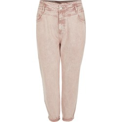 River Island Womens Plus Pink high rise tapered jeans found on MODAPINS from River Island - UK for USD $52.94