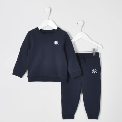 River Island Mini boys Navy jogger outfit found on Bargain Bro UK from River Island - UK
