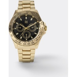 Mens River Island Gold colour link strap watch found on Bargain Bro UK from River Island - UK